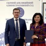 Підписано Меморандум про співпрацю Вінницького торговельно-економічного інституту КНТЕУ з Сьомим апеляційним адміністративним судом